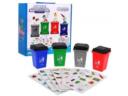 Hra triedenie odpadkov