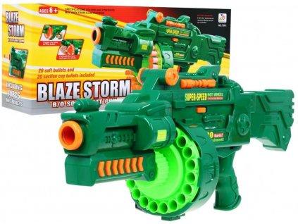 Blaze Storm puška 40 nábojov zelená