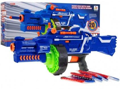 Blaze Storm Machine Gun modrý