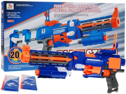 Blaze Storm taktický guľomet modrý