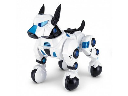 Rastar Interaktívny pes DOGO Rastar 1:14 (spev, tanec, vykonávanie príkazov, LED)