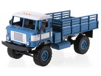 WPL RC auto B-24 vojenský nákladiak 4x4 RTR 1:16