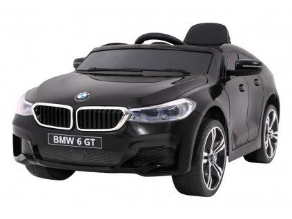 Elektrické autíčko BMW 6 GT 2x45W čierne