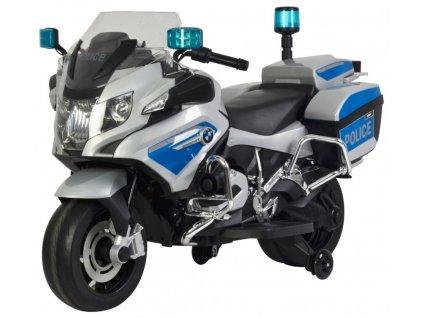 Elektrická detská motorka BMW 1200 - policajná