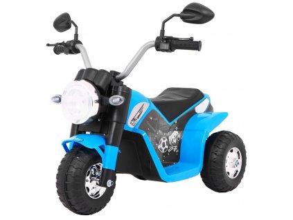 Detská elektrická mini motorka Minibike modrá