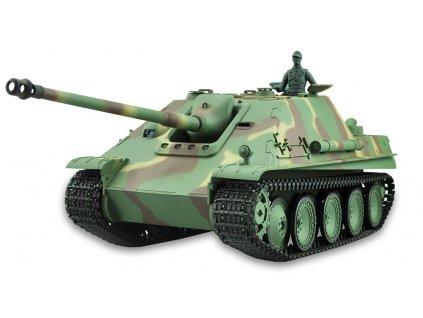RC tank Jagdpanther 1:16 - airsoft, dym, zvuk, QC, drevená bedňa