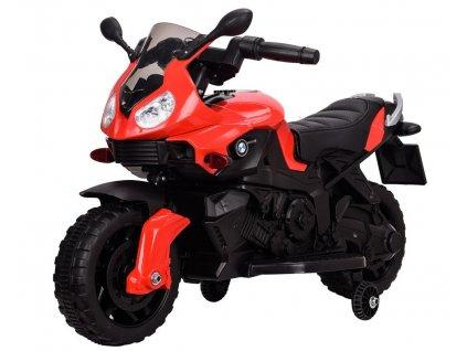 Detská elektrická mini motorka STAR červená