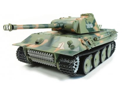 RC tank HL Panther 1:16 - airsoft, dym, zvuk