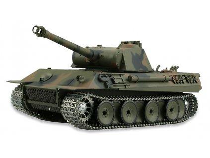 RC tank Panther 1:16 - zvuk, dym, airsoft, kov. pásy, kov. prevodovka