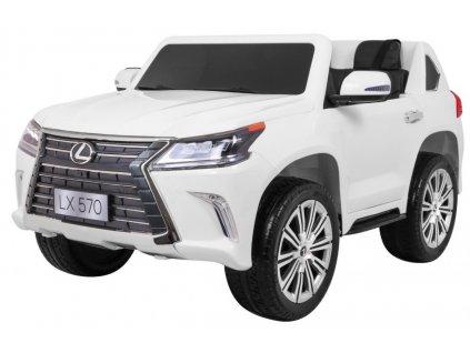 Elektrické autíčko LEXUS LX570 4x45W biele