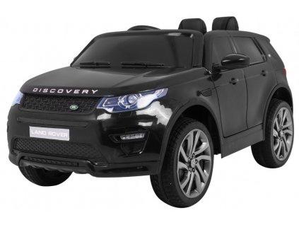 Elektrické autíčko LAND ROVER Discovery 2x35W čierna