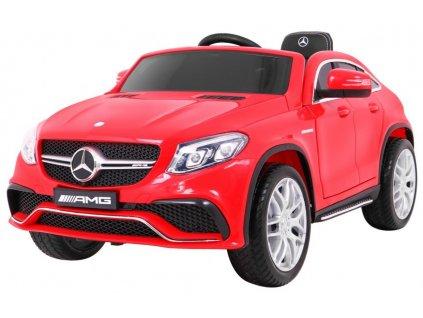 Elektrické autíčko Mercedes GLE63 2x45W červená