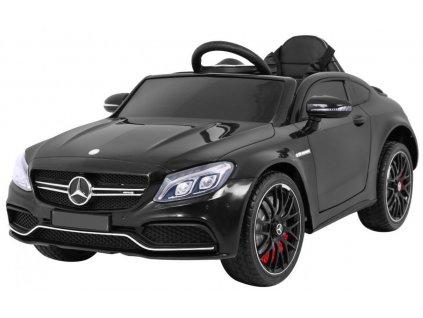 Elektrické autíčko Mercedes C63 AMG 2x45W čierny
