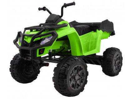 Elektrická štvorkolka XL ATV 4x45W zelený