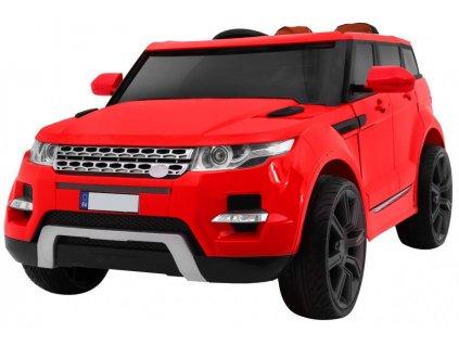 Elektrické autíčko Range Rover MAX 2x45W červená