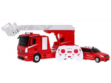 RC hasičské vozy Mercedes Benz RTR 1:14
