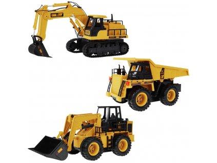RC stavebné stroje sada RTR 1:24