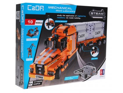 RC stavebnica kamiónová preprava 10v1 CADA C71002W RTR 1:1