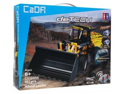 RC stavebnica buldozer CADA C51058W RTR 1:1