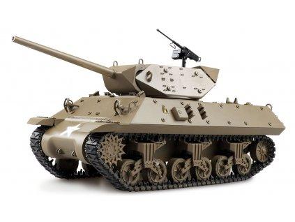RC tank Wolverine M10 Metal lakovaný 1:16 IR RTR TRUE Sound