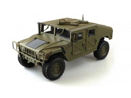 RC auto U.S. Military Truck 4x4 RTR 1:10 zelený