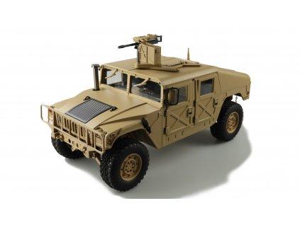 RC auto U.S. Military Truck Sand 4x4 RTR 1:10