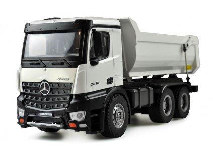 RC sklápač kovový Mercedes Arocs LKW PRO RTR 1:18
