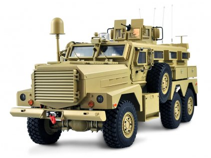 RC auto Americké vojenské vozidlo MRAP 6x6 RTR 1:12