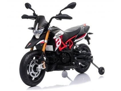 Elektrická detská motorka APRILIA A007 červená