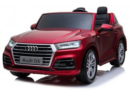 Elektrické autíčko Audi Q5 4x45W červená lak