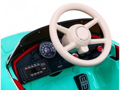 Elektrické autíčko BMW RETRO 2x34W červená lak
