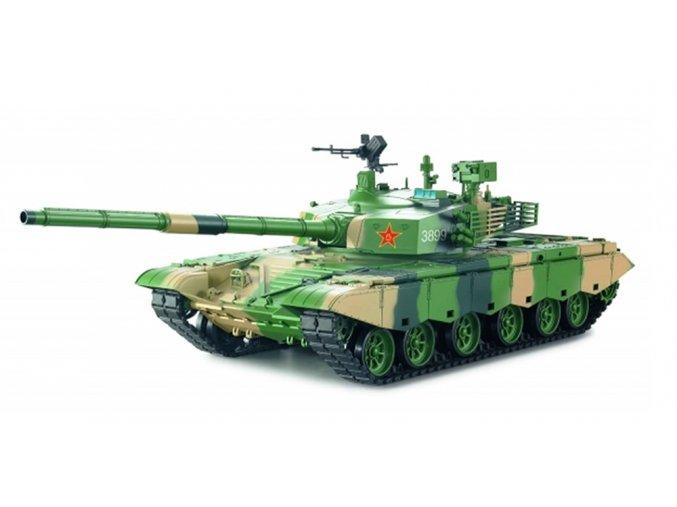 RC tank ZTZ 99 MBT (dym, zvuk, airsoft)