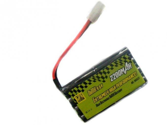 Batérie Ni-MH 2200 mAh 9.6V (tamiya konektor)