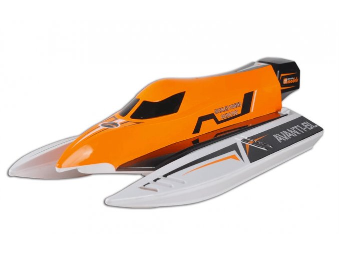 DFmodel AVANTI-BL - pretekársky čln so striedavým motorom