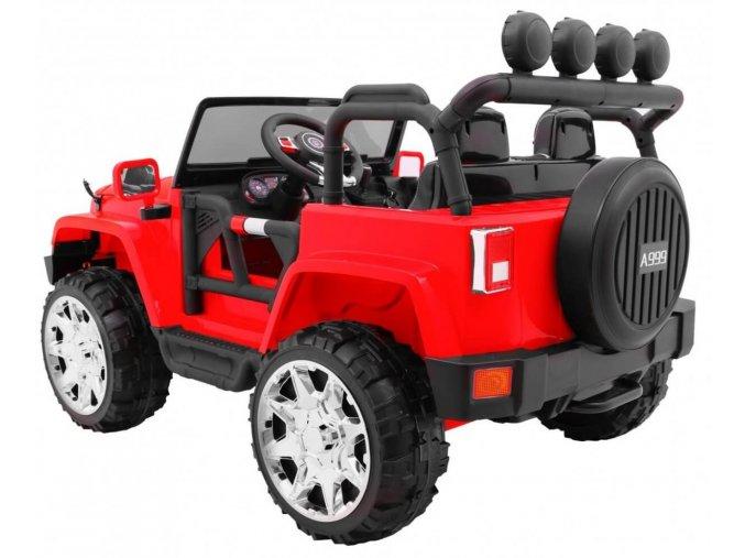 Elektrické autíčko Jeep Wrangler II 4x4 dvojmiestne