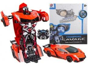 Rc auto robot transformer  na diaľkové ovládanie
