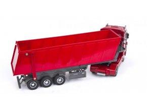 Kamión Mercedes-Benz Actros - sklápač 1:32 červená