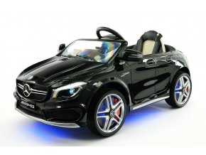 Elektrické autíčko  Mercedes CLA 45 AMG čierne, licencované