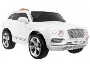 Elektrické autíčko Bentley biele  licencia
