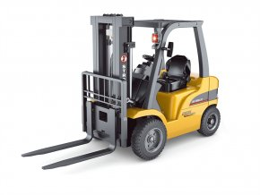 Huina rc vysokozdvižný vozík 1:10, kovová vidlica zdvih 5kg