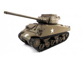RC tank M36B1 Jackson Metal Army zelená RTR, TRUE Sound, 2.4GHz - celokov