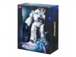 Robot Spaceman - interaktívni, chodiaci, strielajúci soft. náboje
