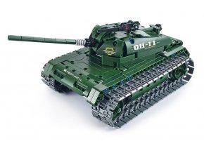 RC Tank - stavebná sada s diaľkovým ovládaním 2.4Ghz