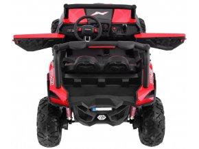 Elektrické autíčko JEEP UTV-MX 4x4 12V EVA kolesá 4X MOTOR Dvojmiestne