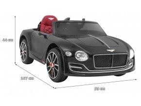 Elektrické autíčko Bentley Continental licencia