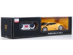 Rastar Lamborgihini HURACAN LP610-4 1:24 - licencované rc auto na diaľkové ovládanie
