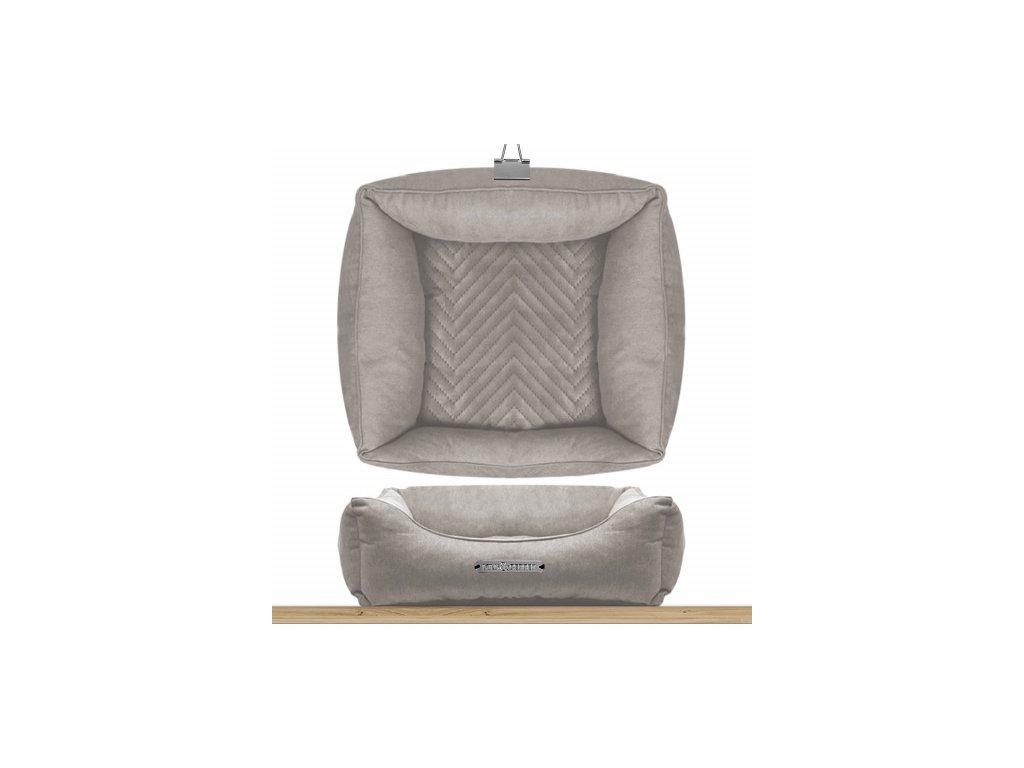 sofa carre dehoussable saint germain taupe