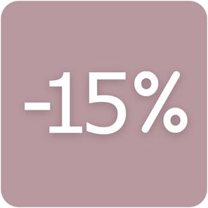 SNÍŽENÁ CENA 15%