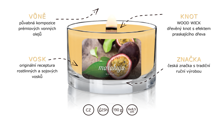 JCandles_color-intensive_wood-wick_MARACUA-popis