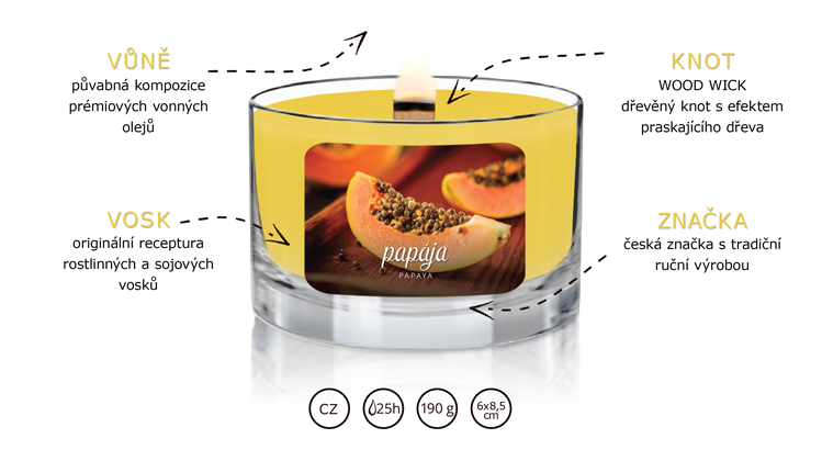 JCandles_color-intensive_wood-wick_PAPAYA-popis